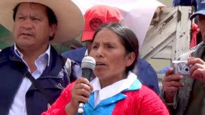 Unánime condena a la agresión de Yanacocha contra Máxima Acuña