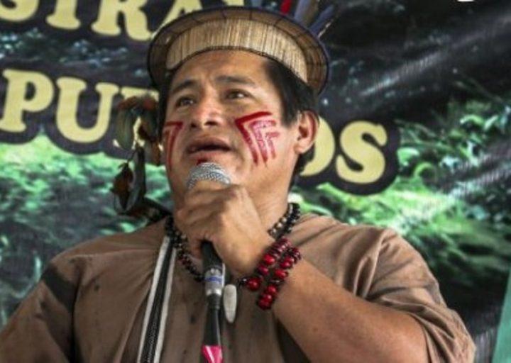 Líder asháninka es candidato al Premio por la Paz 2016 en Perú