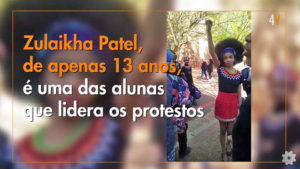"Alunas suspensas por usarem penteado ""black power"""