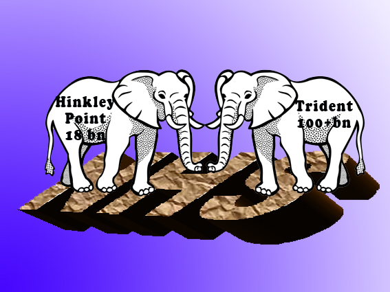 Two white elephants trampling over a Health Service and other British delights, but also hope
