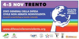 Due giorni di lavoro a Trento per la difesa civile e nonviolenta