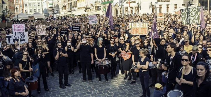 Massive uprising by Polish women just forced right-wing Government to drop abortion ban