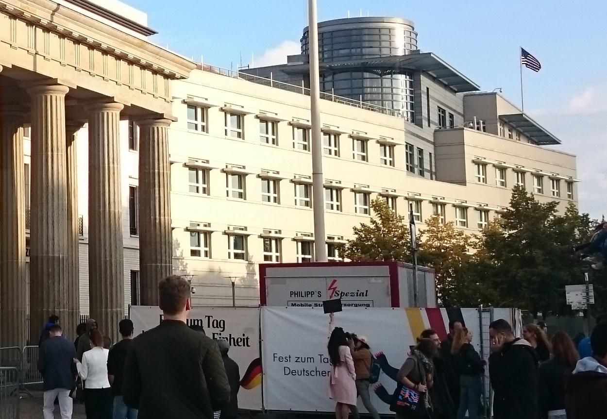 Brandeburgo ambasciata USA
