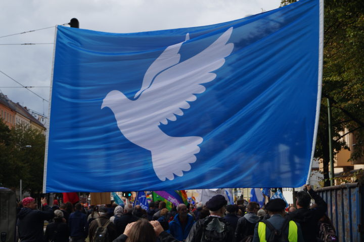 Peace movement once again strengthened in the streets of Berlin