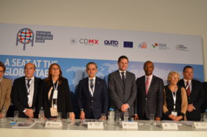 "Mayors seek ""a seat at the global table"""