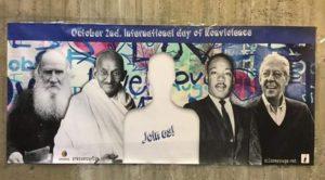 Selfies para la no violencia en el congreso IPB 2016