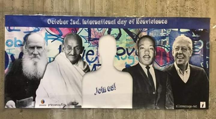 Selfies for nonviolence at IPB congress 2016
