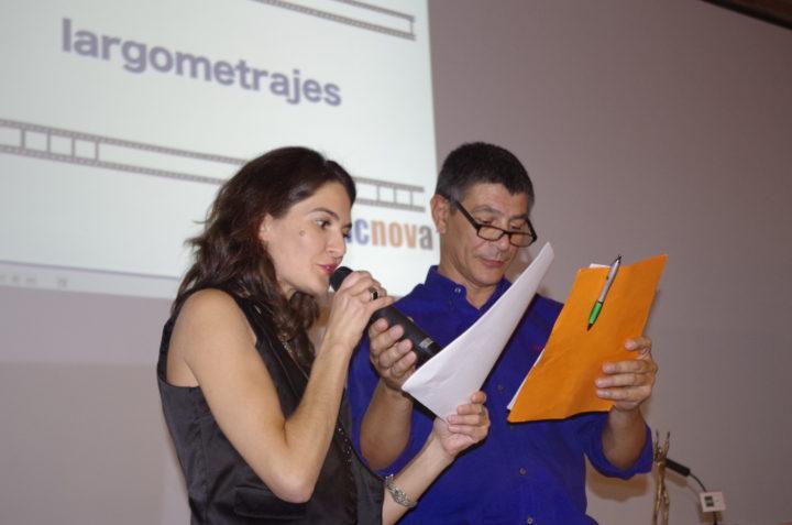 Olivia Tomé y Pablo Herreros