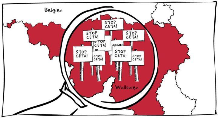 Aufruf gegen CETA: Wallonische Abgeordnete unterstützen!