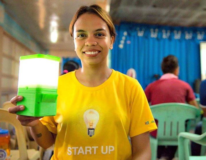 Die Philippinen machen Licht