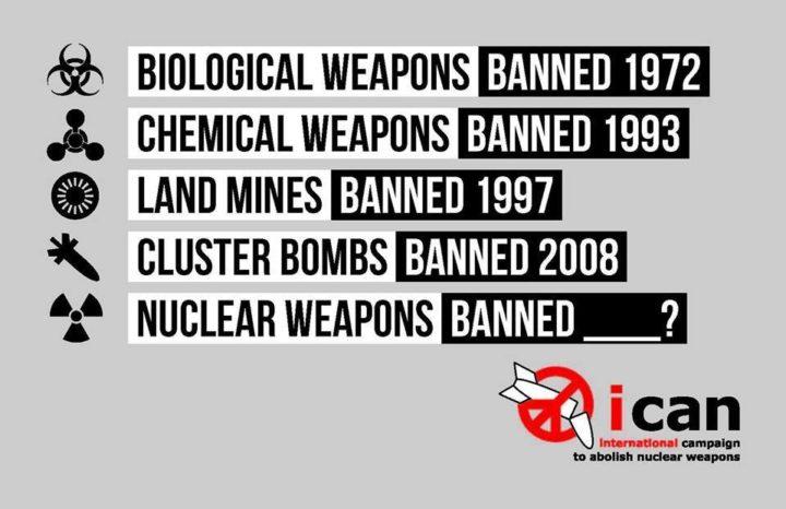 Voto histórico en la ONU indica que las armas nucleares serán ilegales en 2017