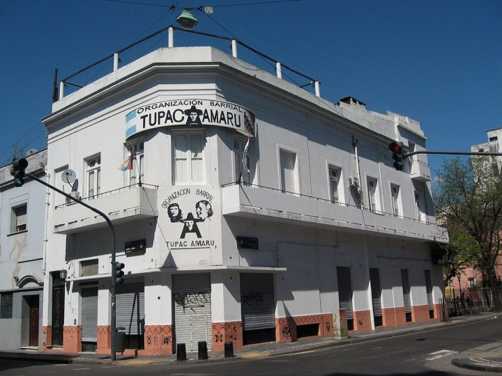 """Hombres armados ingresaron en sede de la Tupac en CABA: """"Dejen de joder con la MIlagro"""" dijeron"""