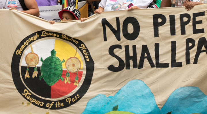 North Dakota pipeline protests spread across US