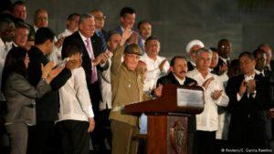 Funeral de Fidel reúne bolivarianos em Havana