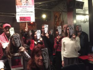 Paris : Solidarité avec Milagro Sala