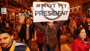 "From Coast to Coast, Anti-Trump Protests Declare: ""Not My President"""