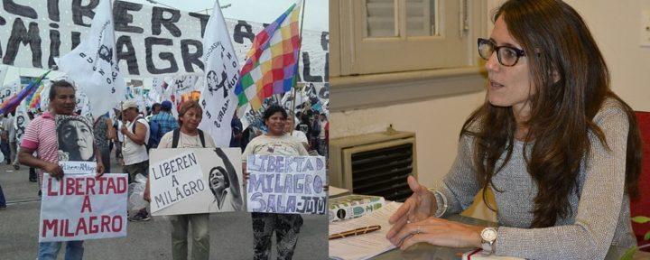 """""""Hace 289 días que Milagro Sala viene sufriendo una detención arbitraria"""""""