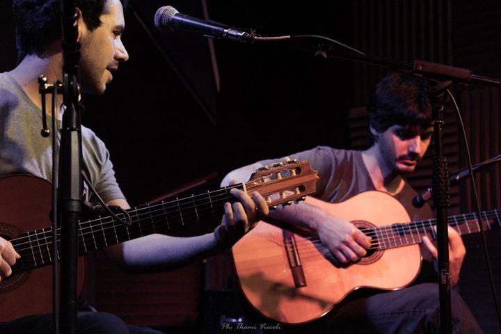 Con Elián Mercure. Foto Thami Vieceli