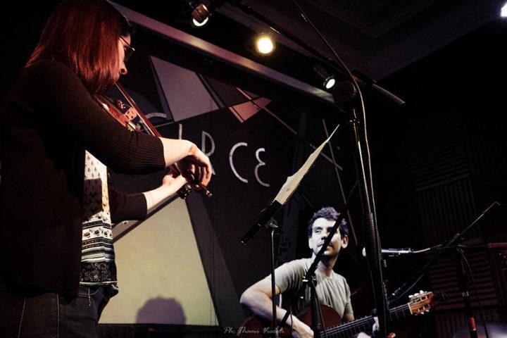 Con Laura Chust. Foto Thami Vieceli