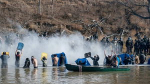 North Dakota: Police Attack Protectors with Tear Gas