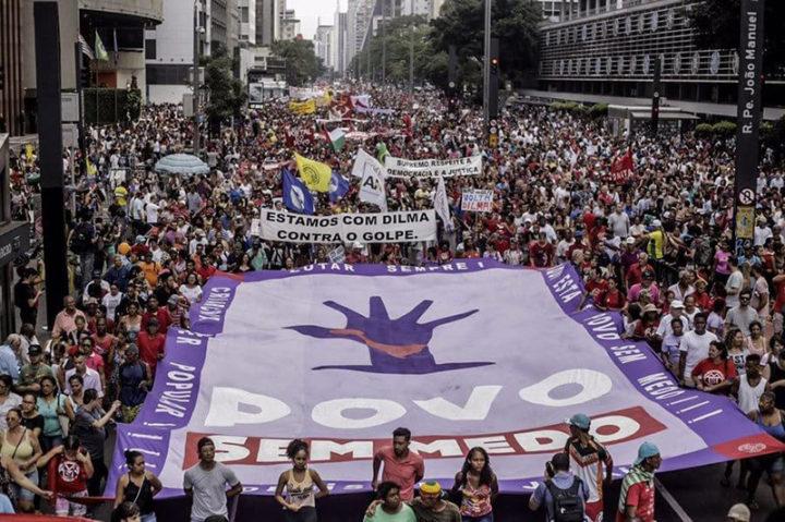 Ato Fora Temer reúne 40 mil pessoas em São Paulo