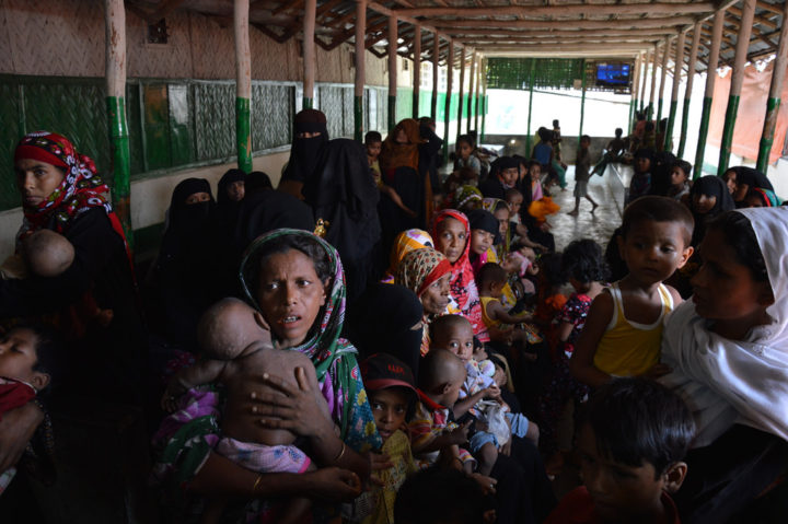 Bangladesh to send back Rohingya Muslims fleeing violence