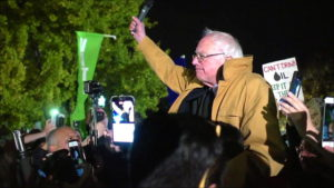Bernie Sanders' Surprise Speech Outside the White House on Rejecting Dakota Pipeline & Trump