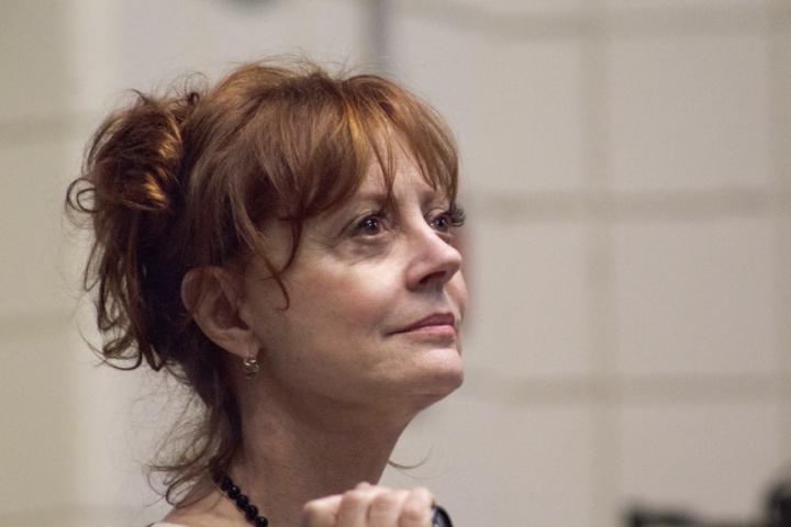 Η Σούζαν Σάραντον στηρίζει την Τζιλ Στάιν