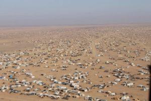 Siria: MSF, allarme inverno per 75.000 siriani bloccati al confine giordano