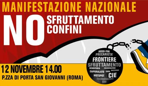 Manifestazione nazionale il 12 novembre contro il ricatto del ...