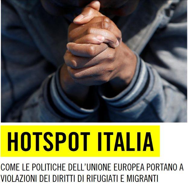 Rapporto Amnesty, ASGI : il Governo sia trasparente e consenta l'ingresso negli Hotspot