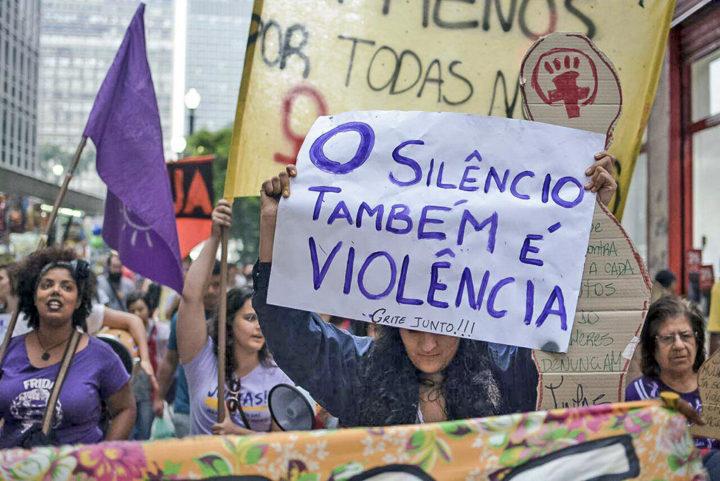 Em SP, ato denuncia como reformas do governo Temer afetam as mulheres