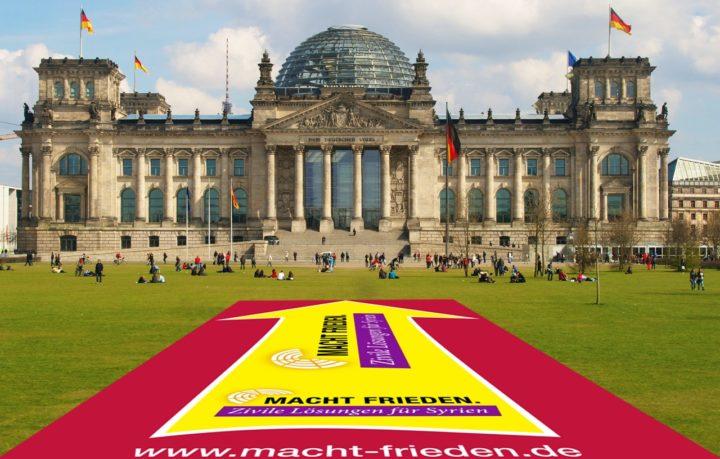 Kampagne gegen Verlängerung des Syrieneinsatzes der Bundeswehr