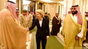 Ο Γερμανικός στρατός εκπαιδεύει στρατιωτικούς αξιωματούχους της Σαουδικής Αραβίας
