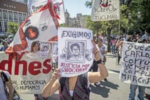 Andhes repudia sanciones impuestas a abogada defensora de la causa Chocobar y vuelve a exigir justicia
