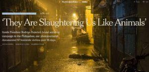 Filippine:  «Ci stanno massacrando come bestie»