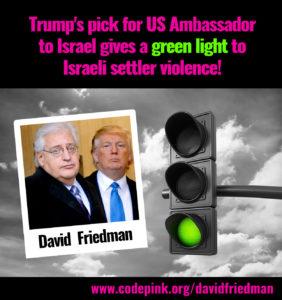 Trump's new settlement builder?