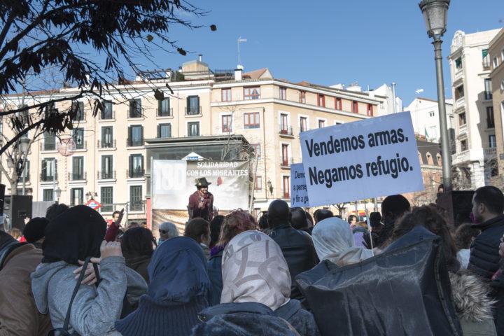 Imágenes del Día del Migrante en Madrid