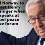 """Roots Action: """"Tell Norway to Arrest Henry Kissinger!"""""""