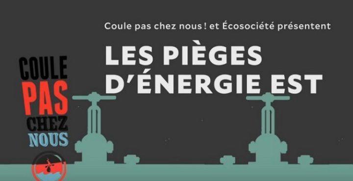 Le projet de TransCanada Énergie Est est un piège économique et climatique