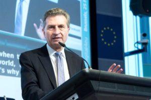 Günther Oettinger wird am 1. Januar 2017 Haushaltskommissar der Europäischen Union – kommt jetzt ein deutsches Kerneuropa?