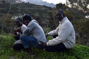 Patrick y los dos Aboubakar