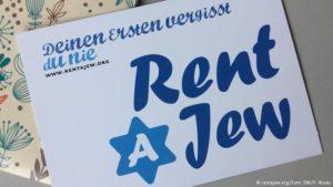 Juden mieten gegen Antisemitismus