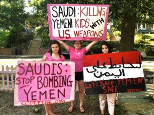 Stop all weapons sale to the Saudi regime!