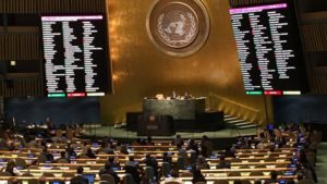 L'Assemblée générale de l'ONU approuve la résolution historique sur les armes nucléaires