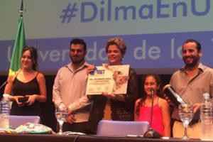 Agasajada en Argentina, Dilma habla de democracia y justicia social