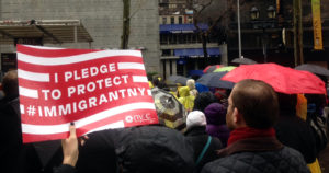 New York March for Immigrant Rights!