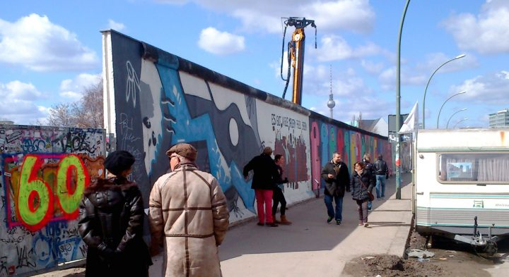 The East Side Gallery in Berlin should become a living Monument to Joy