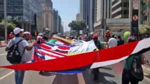 Imigrantes ocupam a av. Paulista e mostram suas vozes na 10ª Marcha dos Imigrantes