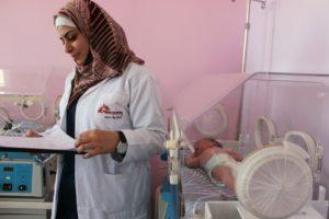Mobilitazione MSF: basta bombe su civili e ospedali – solidarietà alla popolazione siriana